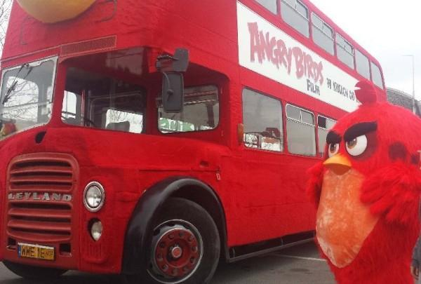 AUTOBUS PTAK - ANGRY BIRDS