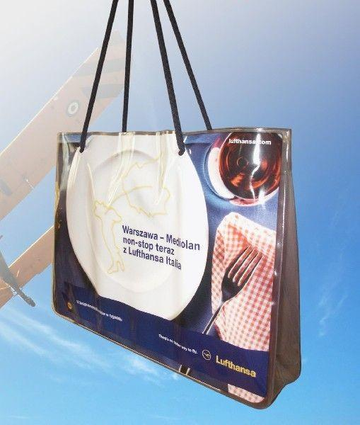 Torba plażowa Lufthansa