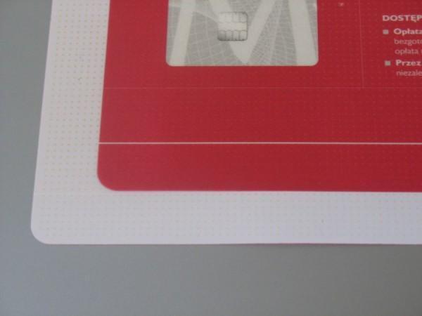 Podkładka na biurko typu 5W z kropkami antypoślizgowymi