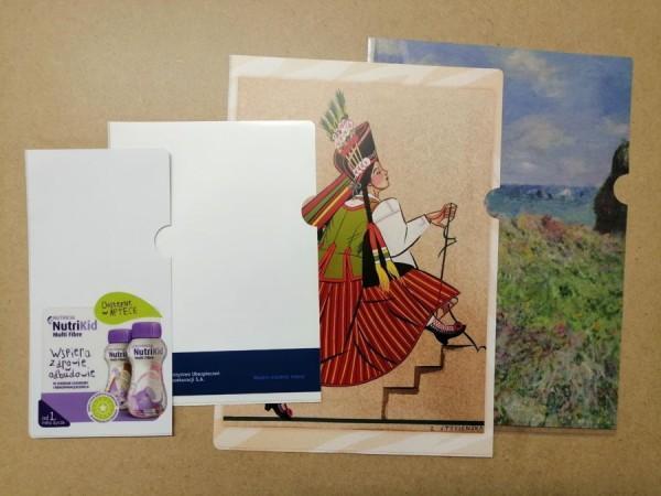 Okładki i obwoluty zgrzewane formatu A4 A5