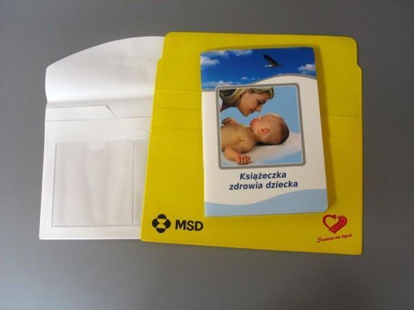 Teczki na dokumenty dziecka